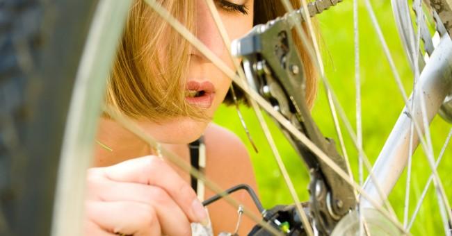 Réparation bicyclette