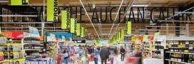 Un hypermarché Auchan 100% éclairé aux LED