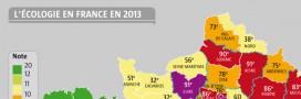 Le palmarès de l'écologie 2013: votre département est-il au top?
