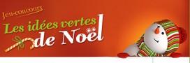 Participez au concours Les idées vertes de Noël avec Le p'tit volcan!