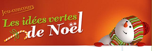 Participez au concours Les idées vertes de Noël avec Le p'tit volcan !