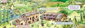 EVA, l'écovillage artistique et naturel vise l'autarcie