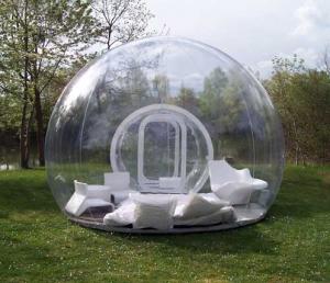 hôtellerie de plein air Bulle transparente