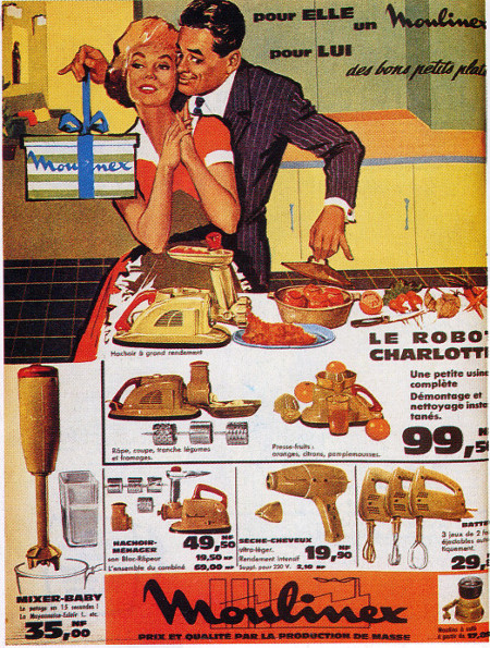 """Moulinex est la 1ère marque à s'adresser à la """"ménagère de moins de 50 ans"""". On a fait du chemin depuis, mais il reste encore beaucoup à parcourir!"""