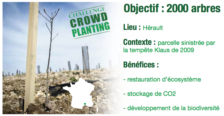 Crowdplanting - Reforest'Action