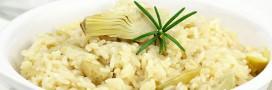 Recette bio: risotto végétarien aux artichauts