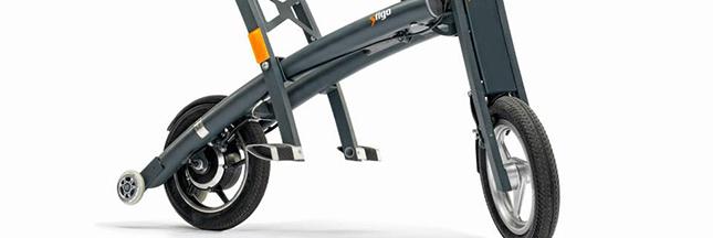 Stigo, un mini-scooter électrique pliable