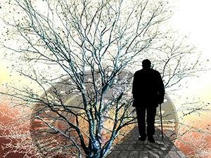 temps-horloge-pensee-meditation-esprit-mort-vieillesse-personne-agee