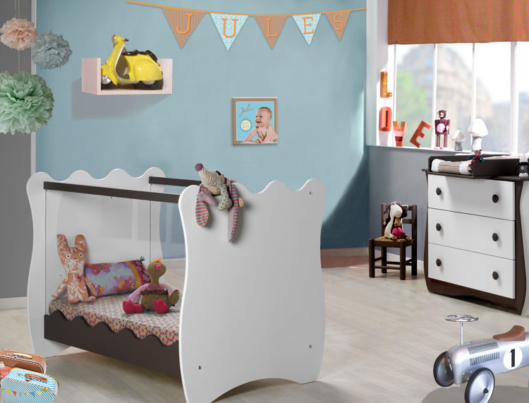 Idee Deco Chambre Ado Loft :  chambre et choisissez du linge de lit aux motifs rétro avec des