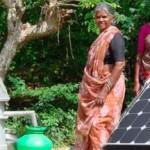 Irrigation - l'eau passe au solaire en Inde...