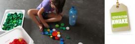Un jeu pour enfants qui recycle les bouchons