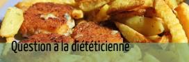 Produits panés = matières grasses ajoutées