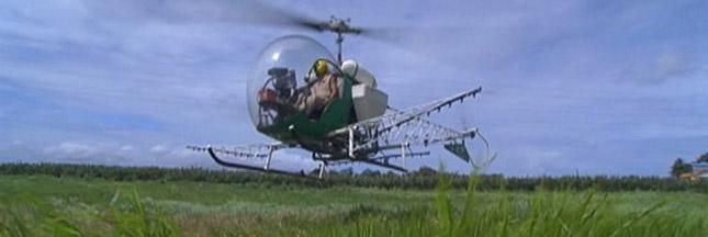 Interdiction totale de l'épandage aérien de pesticides