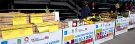Le marché bio entre en gare de Valence TGV