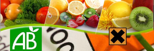 Moins de polluants, plus d'antioxydants dans les fruits et légumes bio