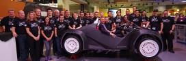 Impression 3D: une voiture électrique imprimée en 44 heures