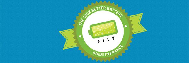 Pilo, une pile rechargeable à l'infini