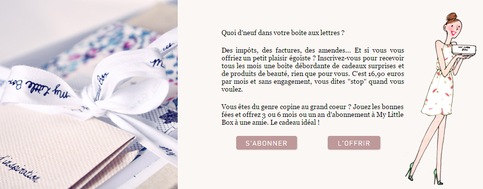 Abonnement MyLittleBox