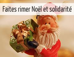 noël solidarité associations cadeaux enfants