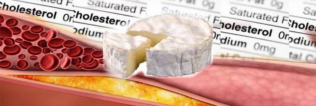 Fromage et cholestérol font bon ménage