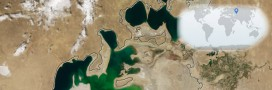2000-2014, voyez la mer d'Aral disparaître (diaporama)