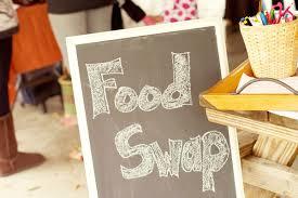 Food Swap Troc alimentaire