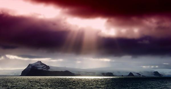 antarctique-glace-coucher-de-soleil