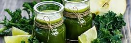 Fait Maison: jus vert de légumes et fruits au chou Kale