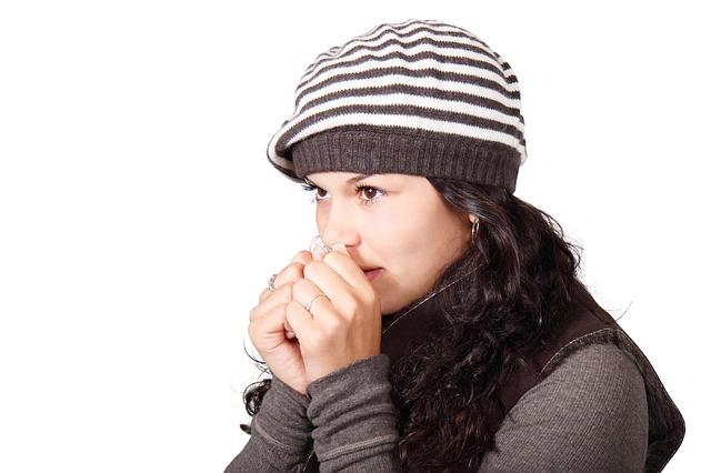 comment avoir moins froid aux mains