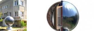 Rawlemon, la sphère solaire qui met le photovoltaïque en boule