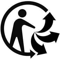 Logo · nature · recycler · flèche · coccinelle · arbre  illustration