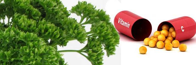 vitamine-C-persil