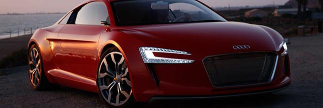 Audi se lance dans la voiture électrique pour contrer Tesla