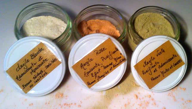 argile-verte-argile-rose-argile-blanche-usage-bienfaits-maison-nettoyer-naturellement