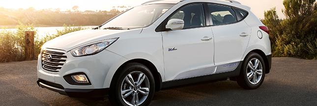Voiture à hydrogène : le match Toyota - Hyundai a commencé