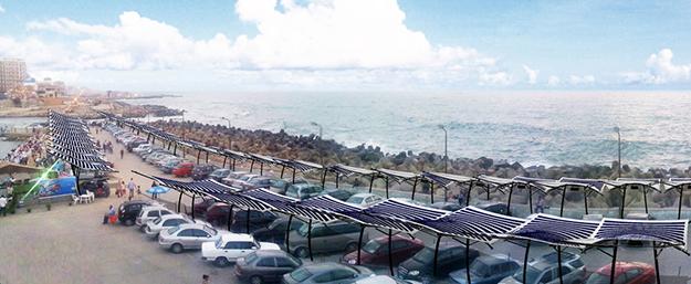 Solar-fabric-carport-parking-membranes-solaires-pvilion