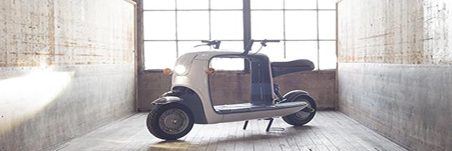 Découvrez Kubo, le nouveau scooter électrique et pratique