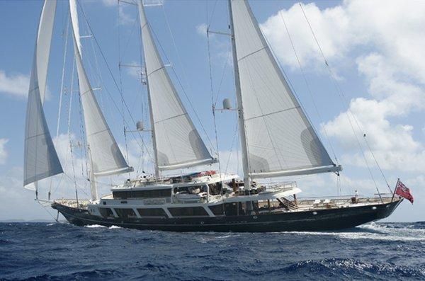 Le yacht de Marion