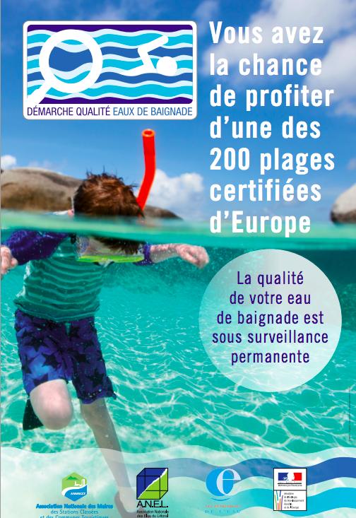 Qualité eaux de baignade