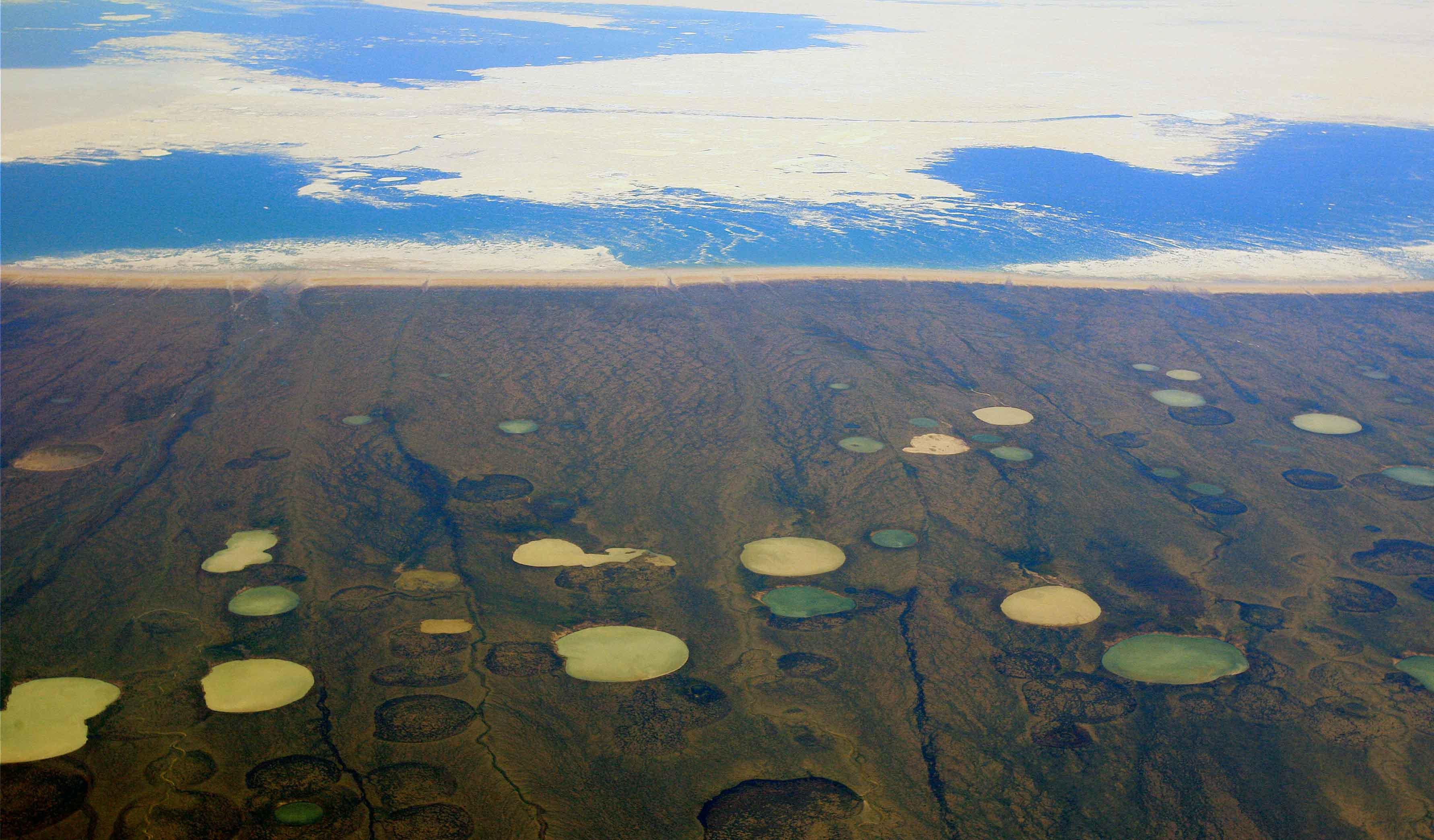 Méthane permafrost