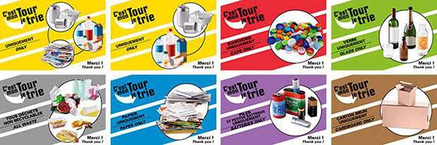 Tour de France tri déchets