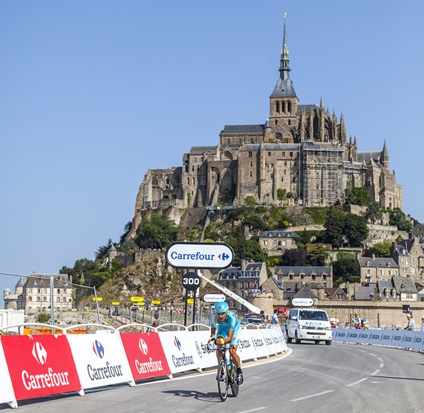 Tour de France Mont saint-Michel