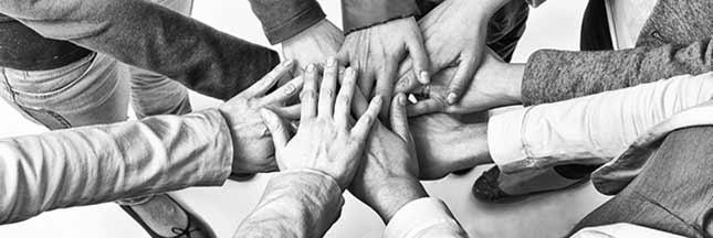 mains équipe union force