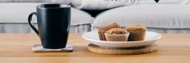 Recette vegan: muffins à l'avocat et aux groseilles