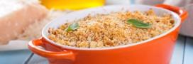 Recette vegan: gratin de quinoa et de fromage frais vegan