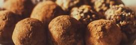 Les truffes au chocolat, vegan ou non, un jeu d'enfant