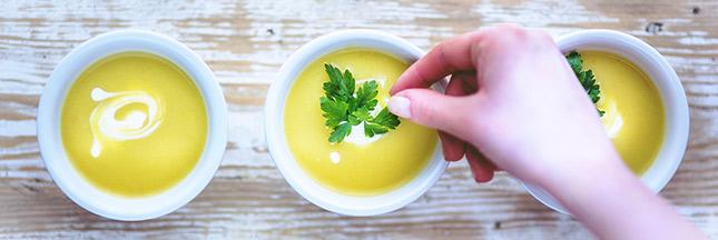 soupe velouté légumes