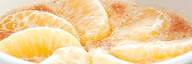 Recettes gourmandes aux 3 nuances d'orange