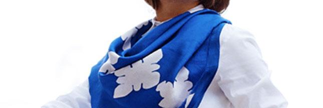 Concours : gagnez un foulard traditionnel kelagayi présenté sur Apparachic
