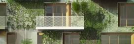 'Réinventer Paris': l'idée d'un jardin habitable au coeur de Paris